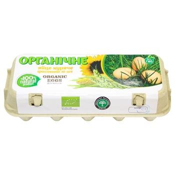 Organic Eggs Chicken Eggs С1 10pcs