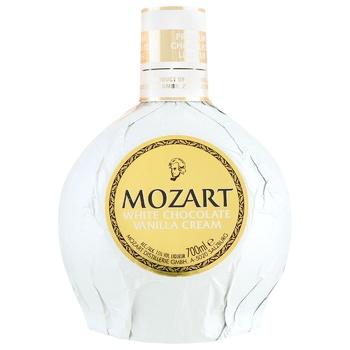 Лікер Mozart White Білий шоколад та ванільний крем 15% 0,7л
