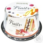 Nonpareil Fruit in Chocolate Cake 600g - buy, prices for Auchan - photo 1