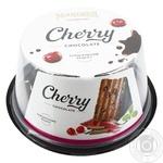 Торт Nonpareil шоколадная вишня 600г - купить, цены на Novus - фото 1