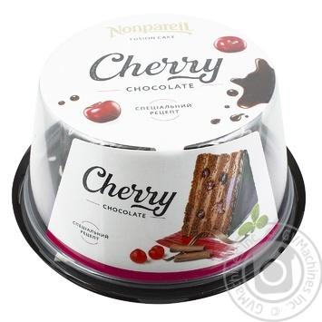 Торт Nonpareil шоколадна вишня 600г - купити, ціни на Novus - фото 1
