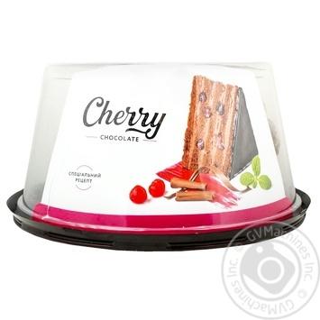 Торт Nonpareil Cherry Chocolate Шоколадная вишня 1кг - купить, цены на Novus - фото 1