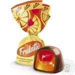 Conti Frulatto candy flavored with raspberry and orange