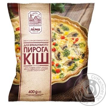 Смесь овощная Лимо для французского пирога Киш из 6-ти компонентов быстрозамороженная 400г - купить, цены на Фуршет - фото 1