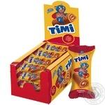 Konti Timi Biscuit Mini-roll with cherry taste 50g