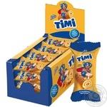 Konti Timi with condensed milk mini-roll biscuit 50g