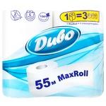 Туалетний папір Диво MaxRoll 4шт 55м