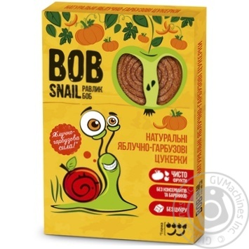 Candy Bob snail with apple 60g - buy, prices for MegaMarket - image 1