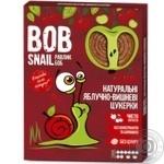 Цукерки Bob Snail яблучно-вишневі натуральні 120г