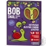 Цукерки Bob Snail яблучно-сливові натуральні 120г - купити, ціни на МегаМаркет - фото 1