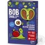 Конфеты Bob Snail натуральные яблочно-черничные 60г