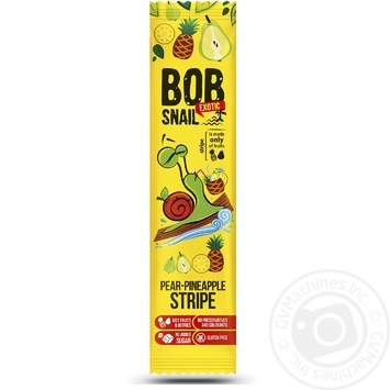 Bob Snail fruit pineapple-pear сandy 14g - buy, prices for MegaMarket - image 1