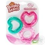 Іграшка Bright Starts прорізувач 3шт