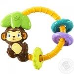 Іграшка брязкальце Мавпочка х3