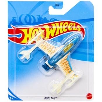 Іграшка Hot Wheels базовий літачок в асортименті - купити, ціни на Ашан - фото 3