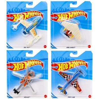 Іграшка Hot Wheels базовий літачок в асортименті - купити, ціни на Ашан - фото 1