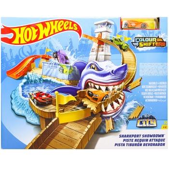 Трек Hot Wheels Полювання на акулу серії зміни колір - купити, ціни на Novus - фото 1