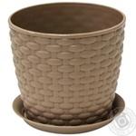 Idea Rattan Flowerpot 13.5cm 1l