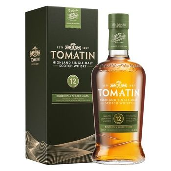 Tomatin 12yrs whisky 43% 0,7l - buy, prices for CityMarket - photo 1