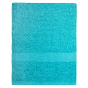 Zastelli Terry Towel Cotton Blue 70x130cm - buy, prices for MegaMarket - image 1