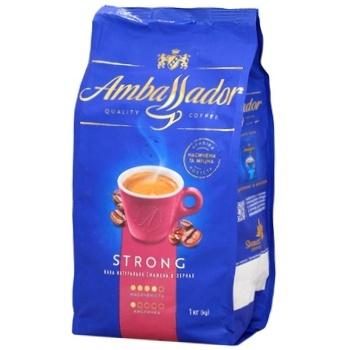 Кава Ambassador Strong зерно 1кг - купити, ціни на Ашан - фото 2
