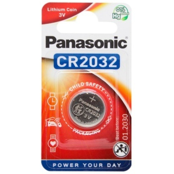 Panasonic Lithium Power CR2032 Battery - buy, prices for CityMarket - photo 1