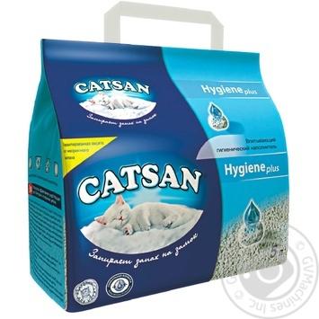 Наполнитель гигиенический Catsan 5л - купить, цены на Метро - фото 1