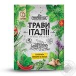 Приправа Pripravka Травы Италии с базиликом томатами и орегано 10г - купить, цены на Novus - фото 1
