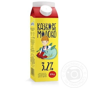 Молоко Молокія Казкове пастеризоване  3,2% 870г - купити, ціни на Фуршет - фото 2