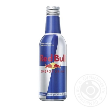 Напій енергетичний Red Bull безалкогольний 0.33л - купити, ціни на Ашан - фото 1