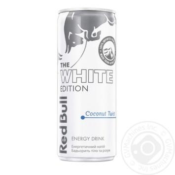 Напій енергетичний Red Bull Coconut з/б 0,25л - купити, ціни на МегаМаркет - фото 1