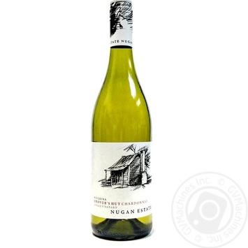 Nugan Estate Drover`s Hut Chardonnay dry white wine 13.5%  0,75l - buy, prices for CityMarket - photo 1