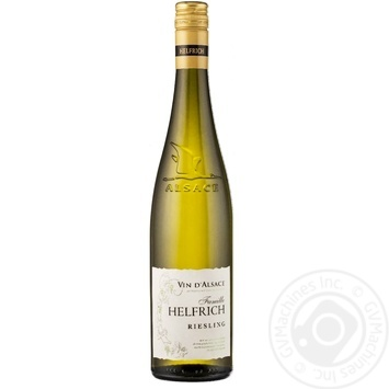 Вино Vin D'Alsace Helfrich Riesling белое сухое 12% 0,75л