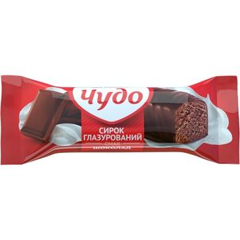 Сырок Чудо Шоколад глазированный 15% 36г - купить, цены на Фуршет - фото 1