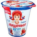 Йогурт Ромол Машенька суничне варення 5% 270г
