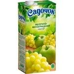 Нектар Садочок виноград-яблуко зелене 0.95л - купити, ціни на Фуршет - фото 1