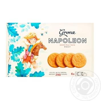 Grona Napoleon with baked milk cookies 290g