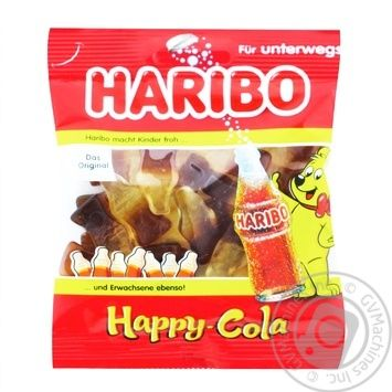 Haribo Happy Cola jelly candy 100g - buy, prices for Tavria V - photo 1
