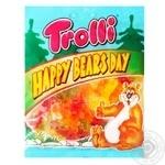 Жевательные конфеты Trolli День счастливых медведей 100г