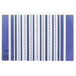 Серветка пластикова 43х28см 3 види в асортименті 130615