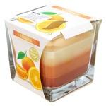 Свеча Bispol апельсин