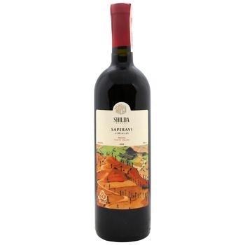 Shilda Saperavi Red Dry Wine 12,5% 0,75l