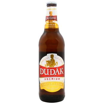 Пиво Dudak Premium світле 5% 0,5 л