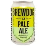 Пиво BrewDog Pale Ale 4,2% 0,33л