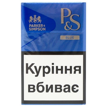 Сигареты Parker&Simpson Blue - купить, цены на Восторг - фото 1