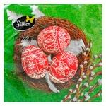 Салфетки Silken бумажные Пасхальное гнездо 33х33см 18шт