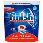 Таблетки для посудомийних машин Finish All in 1 48шт