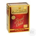 Black tea Akbar Royal Gold extra large leaf 80g - buy, prices for MegaMarket - image 1