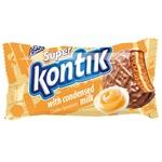 Печиво-сендвіч Super Kontik зі згущеним молоком 100г