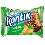 Печенье-сэндвич Super Kontik  с орехом 50г